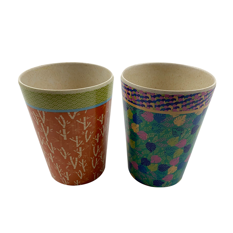 Reusable Bamboo Coffee Cup - Eco-Friendly and Made from Natural and Organic Bamboo Fibre - kid Travel Mug 280ml from Bamboo Cup