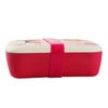 Eco-friendly Reusable Biodegradable Bamboo Fiber Lunch Box