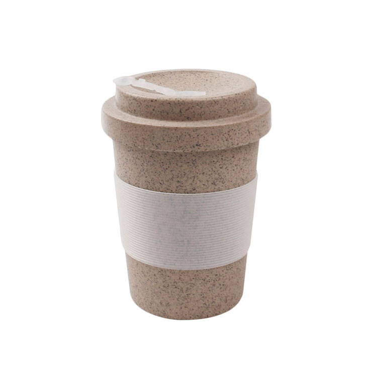 COFFEE HUSK MADE Reusable Coffee Travel Mug With Lid