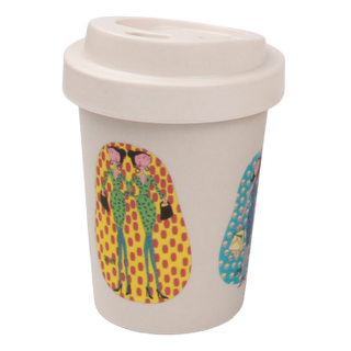 Ecofriendly Bamboo Mugs Made by Bamboo Fiber Cups
