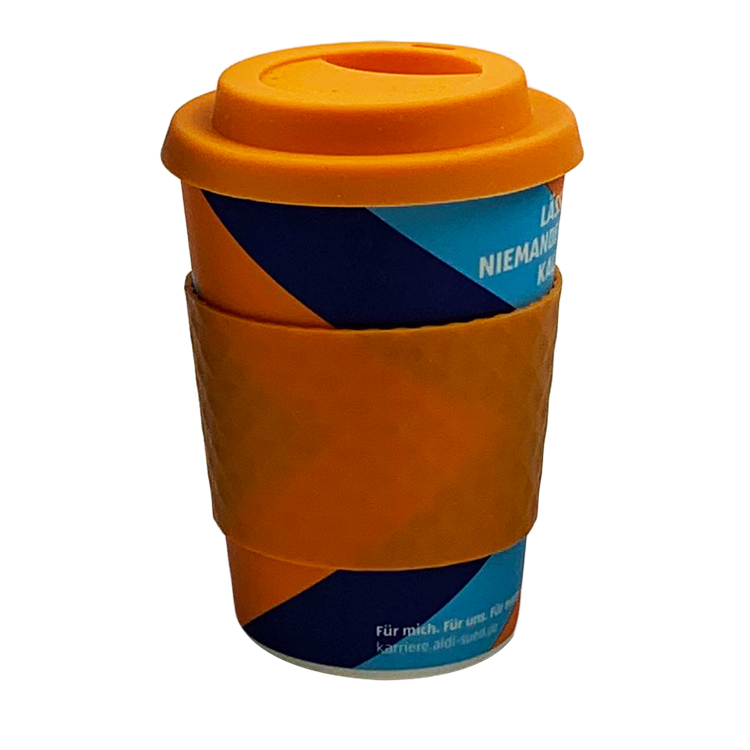 2019 New Products Eco Friendly Biodegradable Bamboo Fiber Coffee Cup Wheat Fiber Coffee Cups