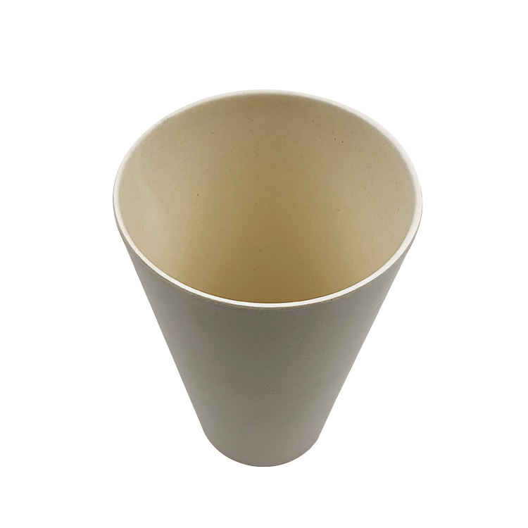 100% Biodegradable Reusable Bamboo Fiber Coffee Cups Tea Travel Mugs