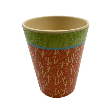 Cheap Bio Bamboo Fiber Coffee Mug Cup with Lid Reusable Bamboo Cup