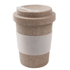 Natural 16oz Biodegradable Bamboo Fiber Drinking Cup Bamboo Coffee Tea Mugs