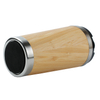 Bamboo Stainless Steel Insulated Cup with natural bamboo wood cups