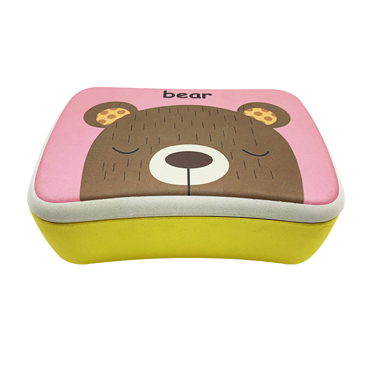 Biodegradable Bamboo Fiber Food Grade Lunch Box
