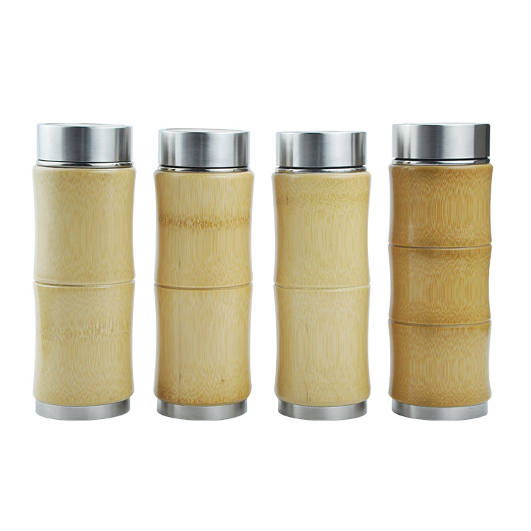 Factory Bamboo Travel Tumbler
