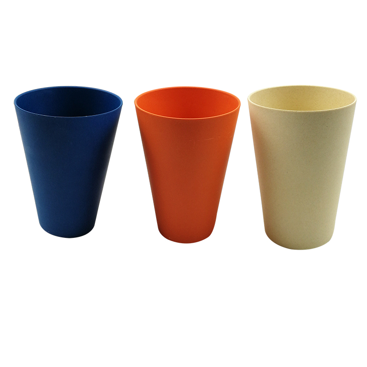 High Quality Special Design Biodegradable New Bamboo Fiber Cup with Silicon Lid And Sleeve for Sale