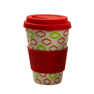 Wholesale Reusable Dishwash Safe Biodegradable Bamboo Fiber Coffee Water Mug
