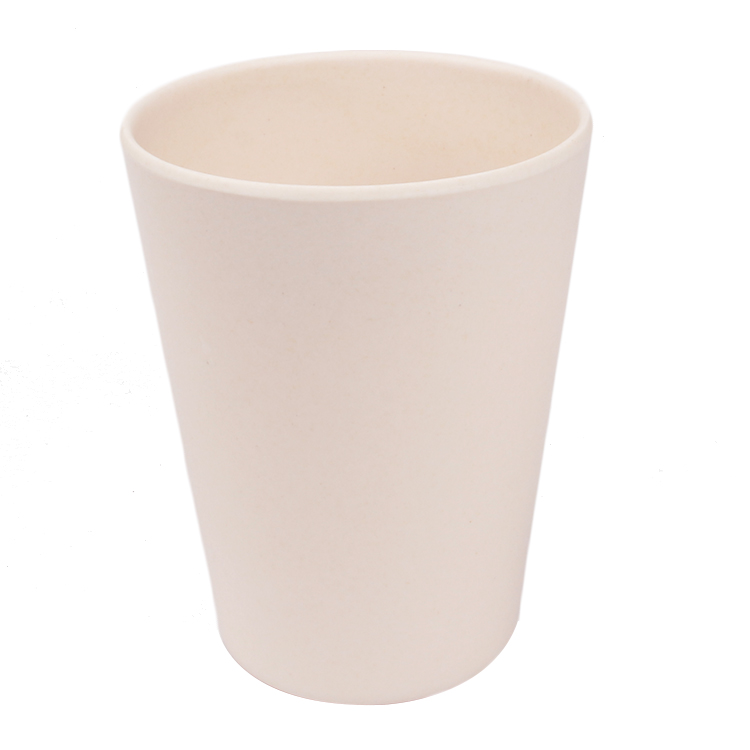 China Factory Simple Style Anti-hot Coffee Cup Bamboo Fiber Mugs