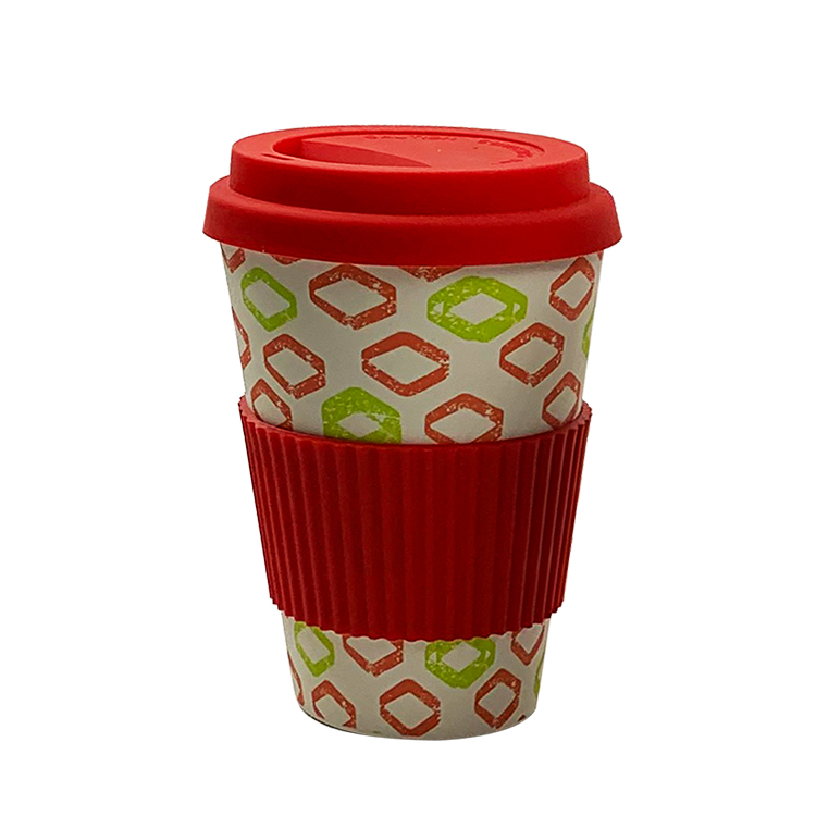 New Eco Friendly 450ML Biodegradable Bamboo Fiber Coffee Cups