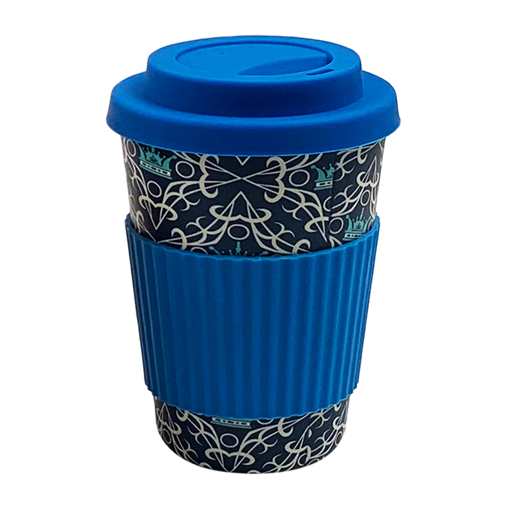 2019 Reusable Dishwash Safe Biodegradable Nature12oz 16oz Custom Bamboo Fiber Coffee Mug