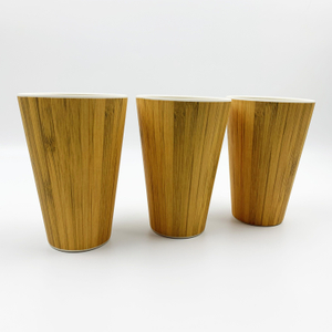 16OZ Eco-friendly reusable ,biodegradable coffee mug Made from natural bamboo fiber